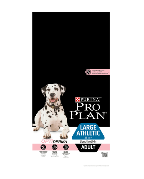 PURINA® PRO PLAN® DOG Large Adult Athletic SENSITIVE SKIN WITH OPTIDERMA™